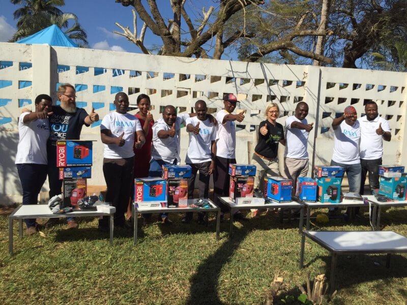 Welding Skills Training in Mozambique