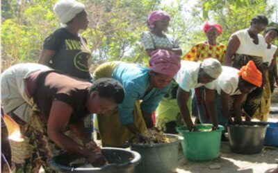 A through knee amputee pensioner passionate about creating sustainability for his community